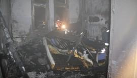 Siirt'te Lise Kız Öğrenci Pansiyonunda Çıkan Yangın Korkuttu