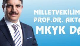MİLLETVEKİLİMİZ PROF.DR. YASİN AKTAY MKYK'DA