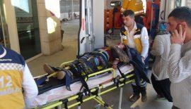 Siirt'te Kaza 1'i Ağır 2 Yaralı