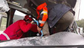 Siirt'te Trafik Kazası 6 Yaralı