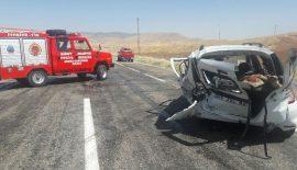 Siirt'te trafik kazası: 1 Ölü, 4 Yaralı