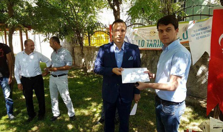 Siirt'te 'Tarımsal Nüfus Gençleşiyor' Projesi