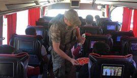 Baykan ilçe jandarma Komutanlığı Asayiş ekipleri ve ilçe Jandarma Trafik Ekipleri