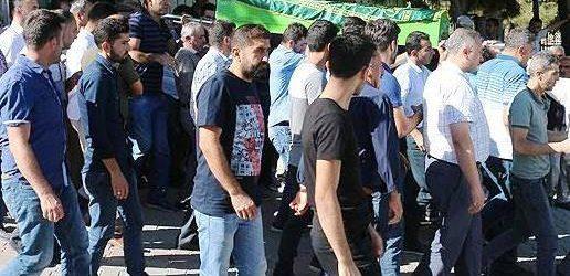 Bölücü Terör Örgütü PKK'lı Teröristlerce Katledilen Aslan'ın Cenazesi Toprağa Verildi