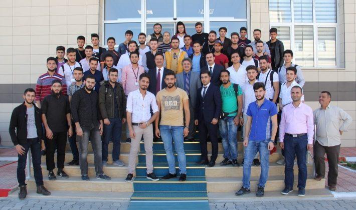 Rektör Prof. Dr. Murat Erman, Yabancı Uyruklu Öğrencilerle Bir Araya Geldi