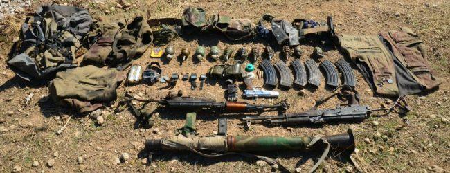 Siirt'te Silah Ve Mühimmatlar Ele Geçirildi