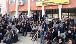 Zübeyde Hanım Lisesinden Dönem Sonu Bahar Şenliği Düzenlendi