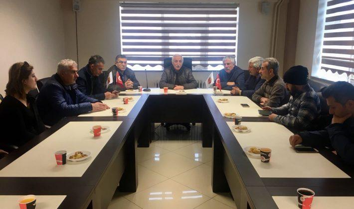 Gazeteciler Trabzon'da
