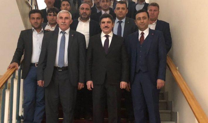 Siirtli Çiftçiler Milletvekilimiz Cumhurbaşkanı Başdanışmanı Prof. Dr. Yasin Aktay'ı Ziyaret Etti.