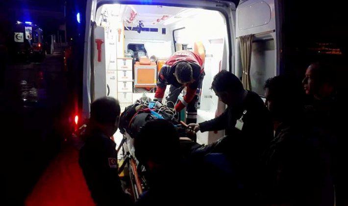 İşçileri Taşıyan Arazi Aracı Devrildi 1 Ölü 5 Yaralı
