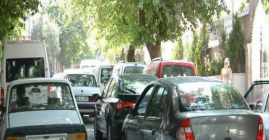 Siirt'te Trafik Keşmekeşliği