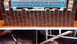3.000 Paket Kaçak Sigara Ele Geçirildi.