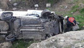 Siirt'te Trafik Kazası 5 Yaralı