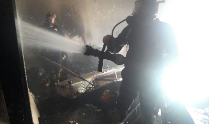 Siirt'te Kız Yurt Binasında Yangın Çıktı
