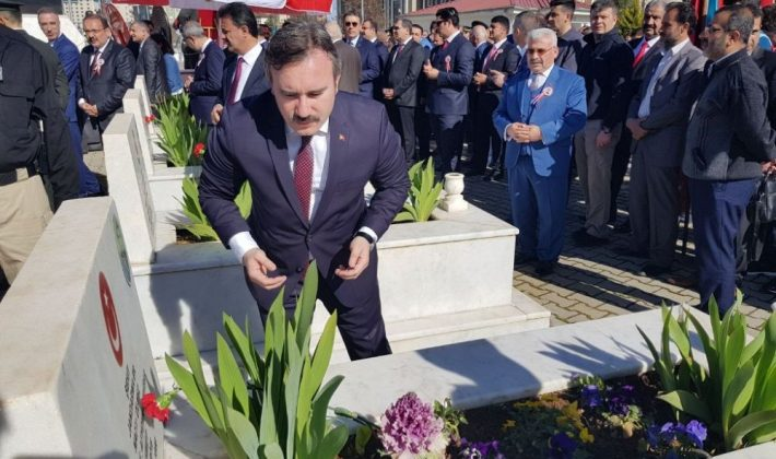 Siirt'te 18 Mart Şehitlerini Anma Töreni Düzenlendi