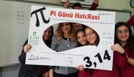 """""""Pİ GÜNÜ"""" FARKLI ETKİNLİKLERLE KUTLANDI"""