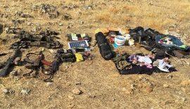 7 Teröristin Öldürüldüğü Operasyonda Çok Sayıda Mühimmat Ele Geçirildi
