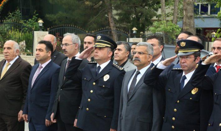 Türk Polis Teşkilatının 173. Kuruluş Yıl Dönümü Töreni Yapıldı