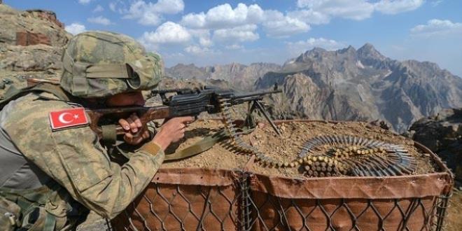 Pervari'de PKK'lı 7 Terörist Etkisiz Hale Getirildi