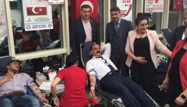 Ortak Kan Bağışı Kampanyası Gerçekleştirildi