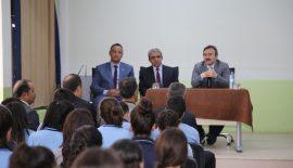 Evliya Çelebi Mesleki ve Teknik Anadolu Lisesi Öğrencileri ile Bir Araya Geldi