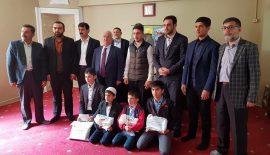 Siirt'te Kur'an-ı Kerimi Güzel Okuma Bölge Yarışması Yapıldı