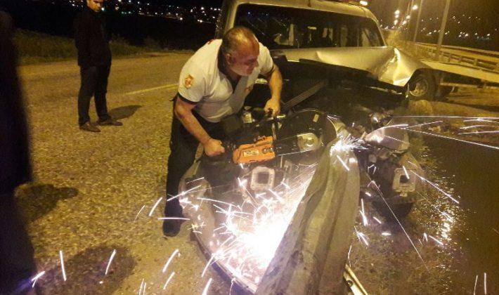 Maddi Hasarlı Trafik Kazası