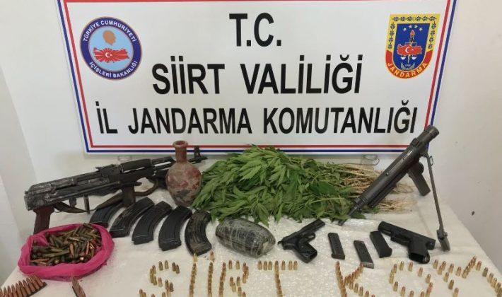 Siirt'te Kaçakçılık Operasyonu Gerçekleştirildi