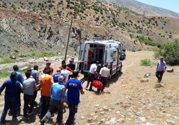 Siirt'te Trafik Kazası 2 Yaralı