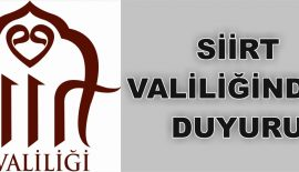 SİİRT VALİLİĞİNDEN 'İLETİŞİM DOLANDIRICILIĞI' UYARISI