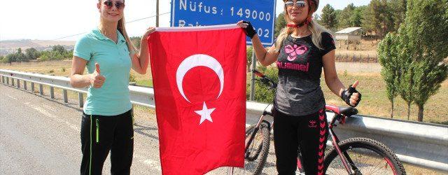 Türk Kadının Zaferi Bisiklet Turu Projesi