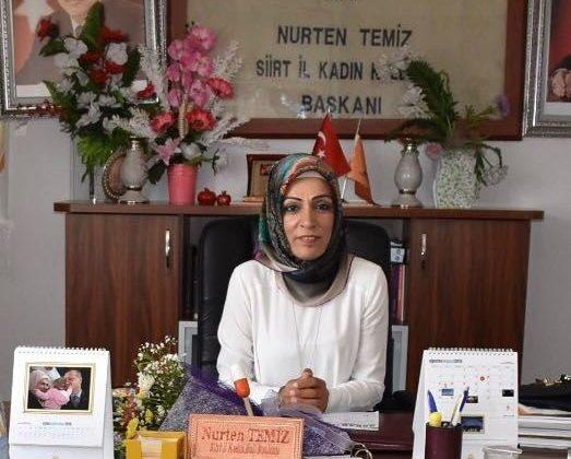 Kadın Kolları Başkanı Temiz'den Kurban Bayramı Mesajı