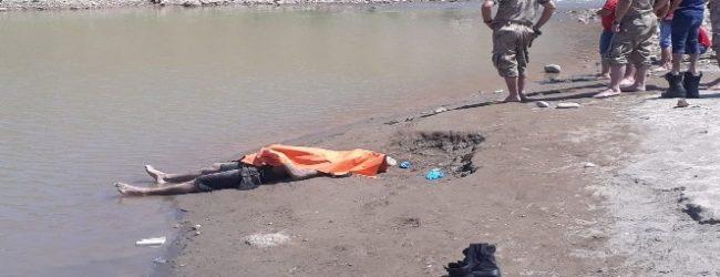 Kezer Çayı'nda Bir Erkek Cesedi Bulundu.