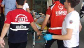 Siirt'te Meydana Gelen Motosiklet Kazasında 2 Uzman Çavuş Yaralandı