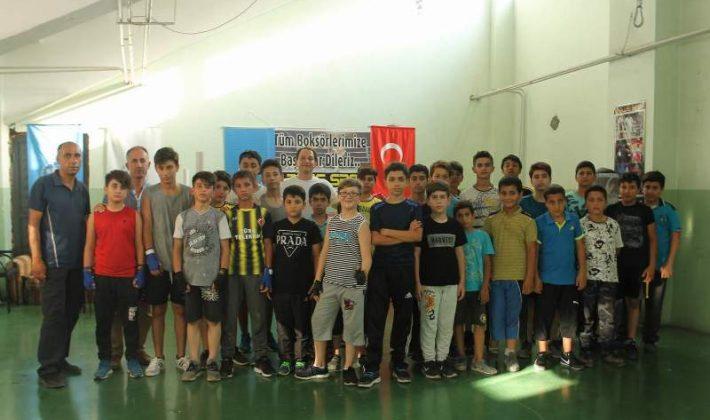 Siirtli Boksörler Türkiye Şampiyonası'na Hazırlanıyor