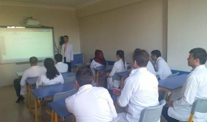 Siirt Açı Eğitim Kurumları Öğretmenlere Seminer Verildi