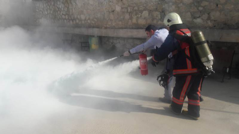 Ceza Evinde Yangın ve Kurtarma Tatbikatı Yapıldı