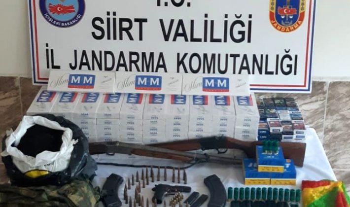 Jandarma Ve KOM Şube Müdürlüğü Kaçakçılara Fırsat Vermiyor