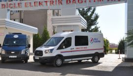 Dicle Elektrik'in Kablo Test Araçları Görevde