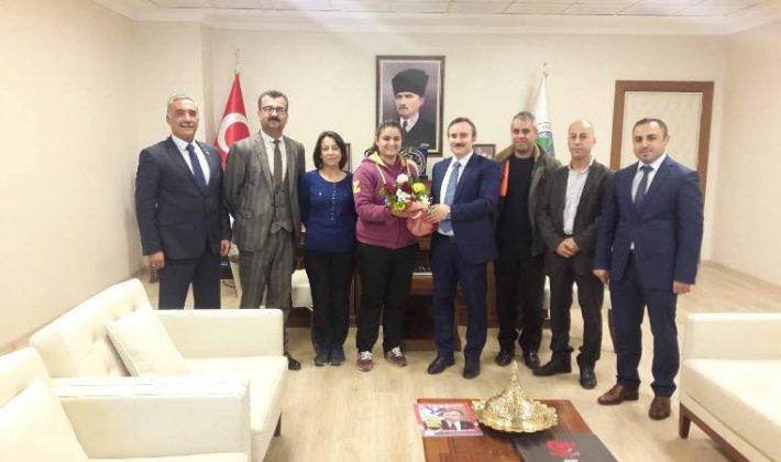 Okul Aile Birliğinden Belediye Başkanına Ziyaret