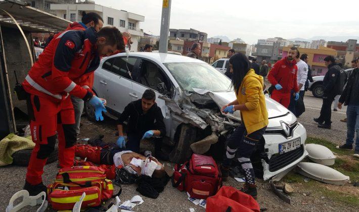 Siirt Kurtalan İlçesinde Kaza Yaralı