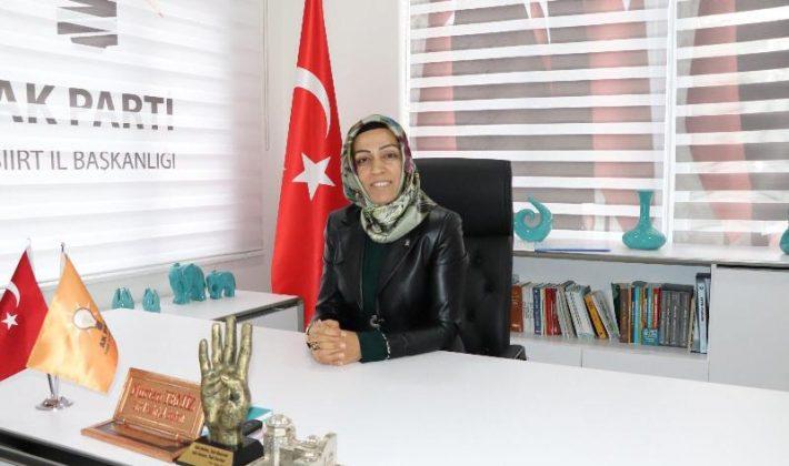 Ak Parti Kadın Kolları Yönetimi Yeni Yıl Kutlama Mesajı