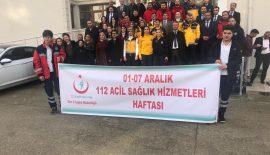 112 Acil Sağlık Hizmetleri Haftası Kutlandı