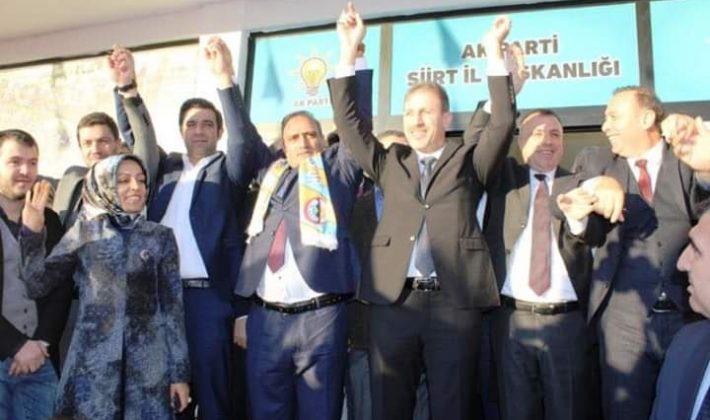 Ak Parti Adayı İlbaş'a Coşkulu Karşılama