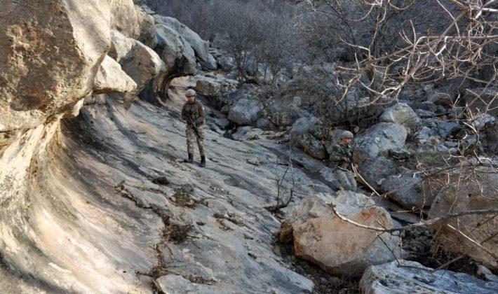 PKK/KCK Bölücü Terör Örgütünün Barınakları İmha Edildi