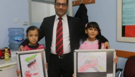 Suriyeli Çocuklar Ülkelerine Duyduğu Özlemi Resimlerle Anlatıldı