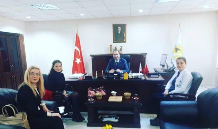 Özel Siirt İbn-i Sina Alesi Tıp fakültesi Dekanı Prof.Dr.Vefik Arıca'yı Ziyaret Ettiler