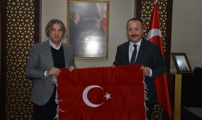 İSTANBUL-BEYOĞLU BELEDİYE BAŞKANI DEMİRCAN'DAN, VALİ ATİK'E ZİYARET