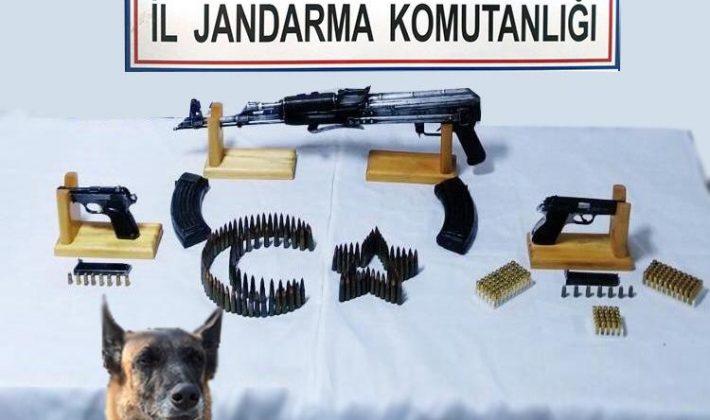 Silah Ve Mühimmat Ele Geçirildi