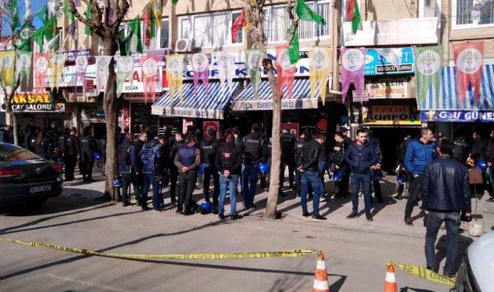 Siirt'te HDP'nin Yürüyüşüne İzin Verilmedi